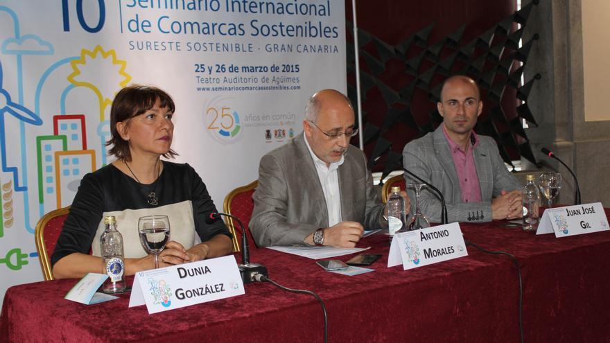 Alcaldes del Sureste en la presentación del 10º Seminario Internacional Comarcas Sostenibles