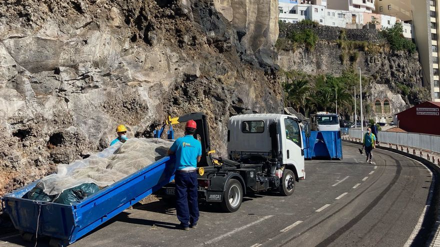 La capital abre al tráfico la carretera del Galeón tras finalizar la obra de la red de saneamiento
