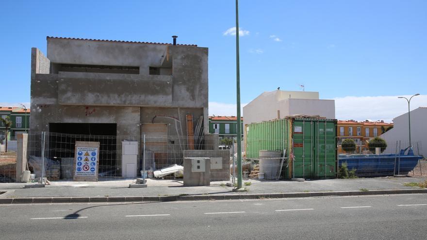Construcción de viviendas de promoción privada en Gran Canaria.