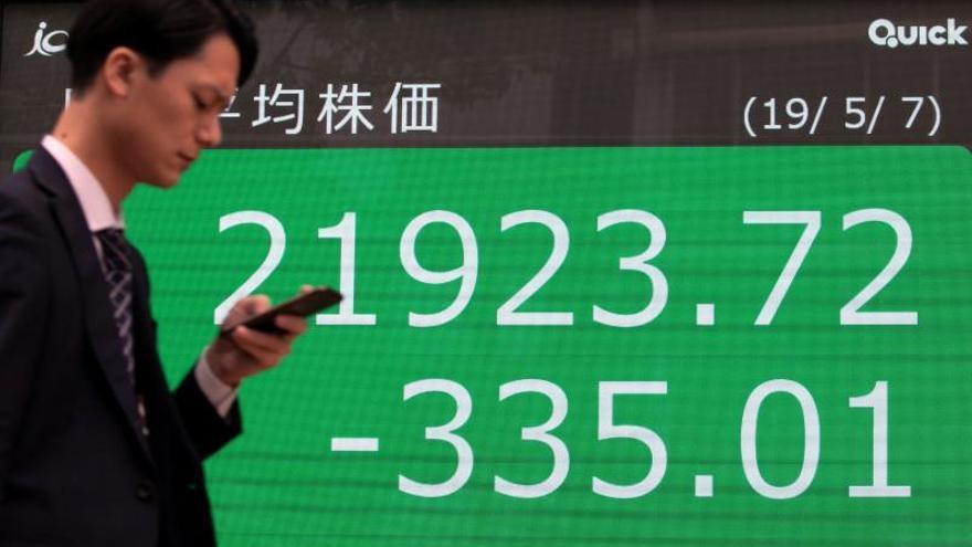 La Bolsa de Tokio cierra mixta a la espera de negociaciones EE.UU. y China