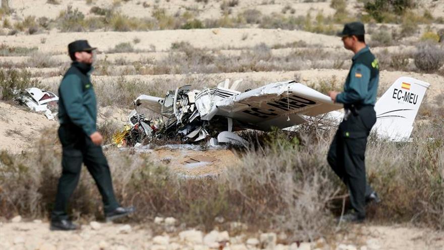 Fallecen los dos ocupantes de un ultraligero al precipitarse en Muchamiel, Alicante