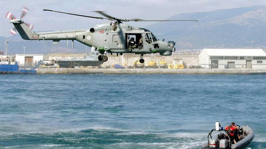 Incidente de la Marina británica con una embarcación española en Gibraltar
