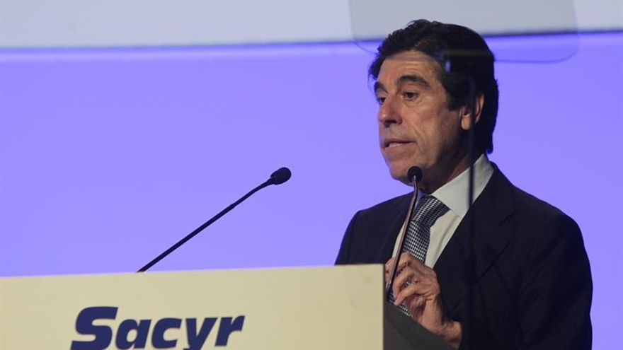 Sacyr ganó un 6,3 % menos hasta junio por ausencia de extraordinarios de 2016