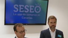 Presentación de la nueva 'app' de Cajasiete, este martes