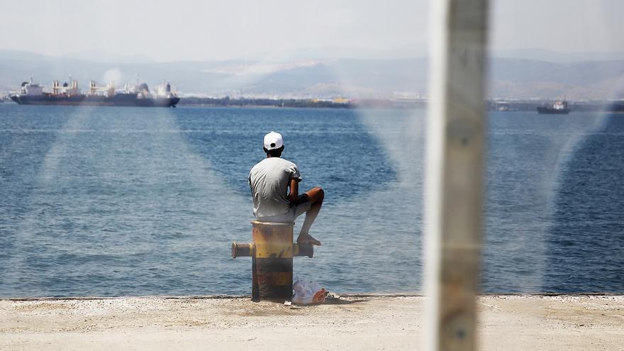 Campo de Skaramagas, cerca de Atenas  © Giorgos Moutafis/Amnesty International