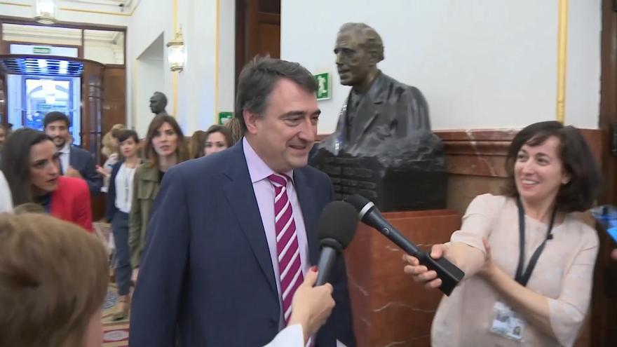 """El PNV dice que el cambio de Gobierno de Torra demuestra que no hablaba """"a humo de pajas"""" cuando auguró el fin del 155"""