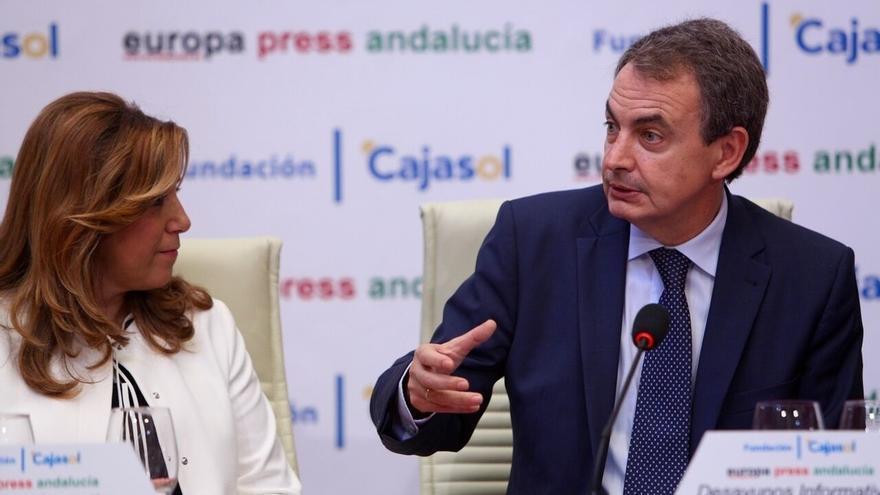 """Susana Díaz agradece a Zapatero su """"decisiva intervención"""" en la liberación de Leopoldo López"""