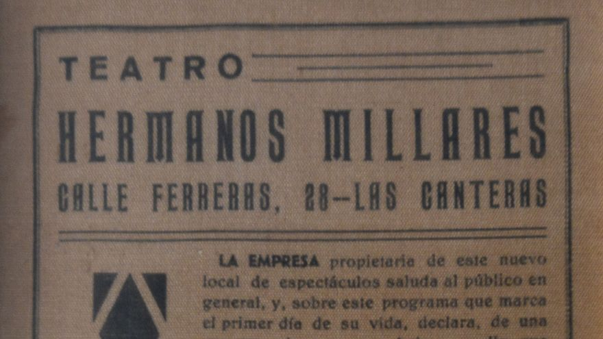 programa cine Millares