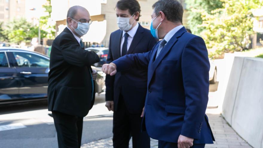 """Castilla y León, Aragón y Castilla-La Mancha piden ver la despoblación """"como una oportunidad"""" y exigen medidas ante un """"asunto de Estado"""""""