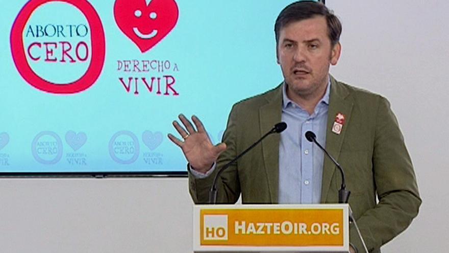 El presidente de HazteOir, Ignacio Arsuaga / Efe.