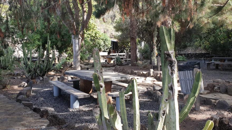 Área recreativa de la Fuente del Toro en Tijarafe.