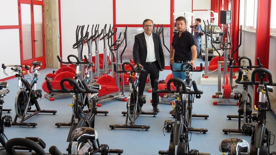 Entra en funcionamiento el nuevo gimnasio del pabellón Vicente Trueba