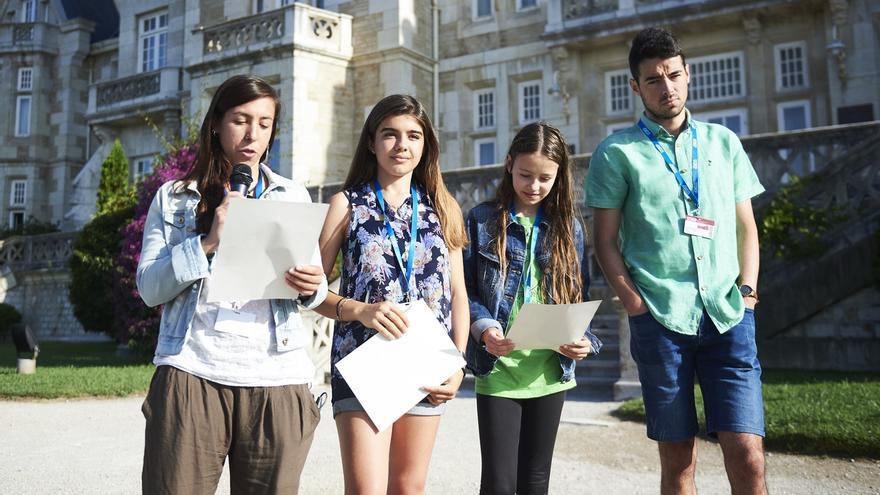 'Fridays for Future' pide declarar la Emergencia Climática en el 'Manifiesto de la Magdalena'