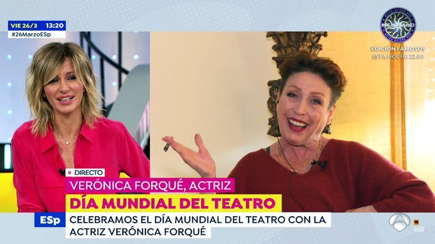 Verónica Forqué en 'Espejo Público'