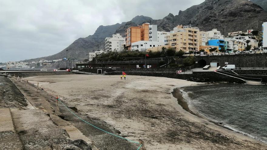 Cerrada la playa de Bajamar tras encontrarse bacterias fecales