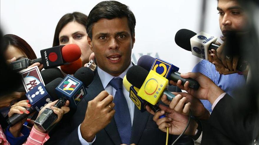 La CIDH y relator de la ONU denuncian que Venezuela hostiga a López y su familia