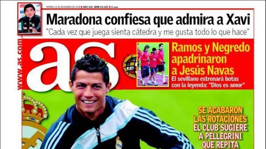 De las portadas del día (13/11/09) #11