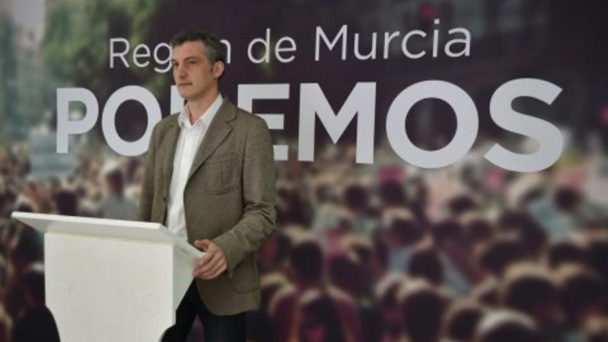 Óscar Urralburu y su equipo vencen en las primarias de Podemos Región de Murcia