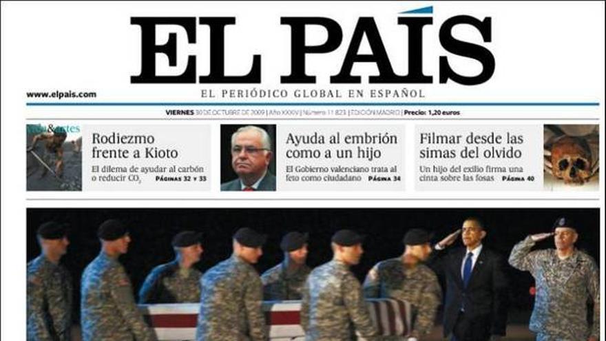 De las portadas del día 30/10/2009 #5