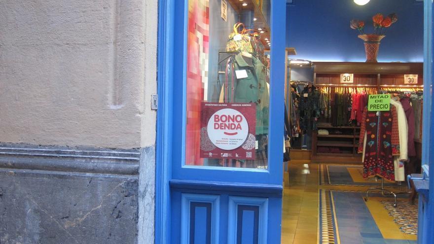 Vendidos 10.000 bono denda en las tres primeras jornada de la campaña para estimular el consumo en comercios de Bizkaia