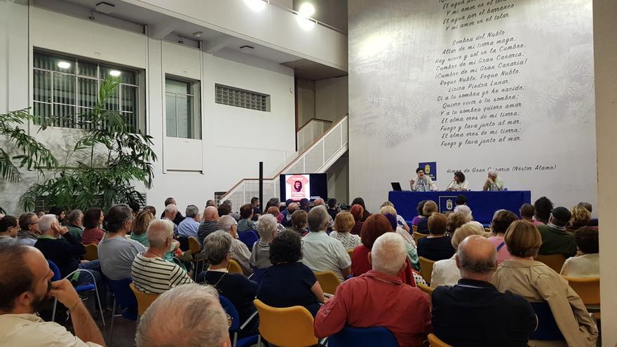 Conferencia 'El Che, de la camiseta a la historia' en el Cabildo de Gran Canaria