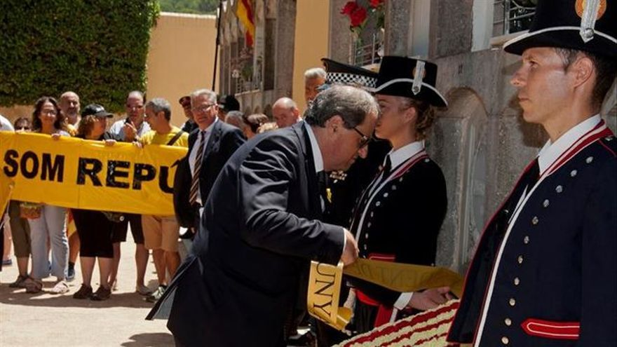 Torra, presidente catalán