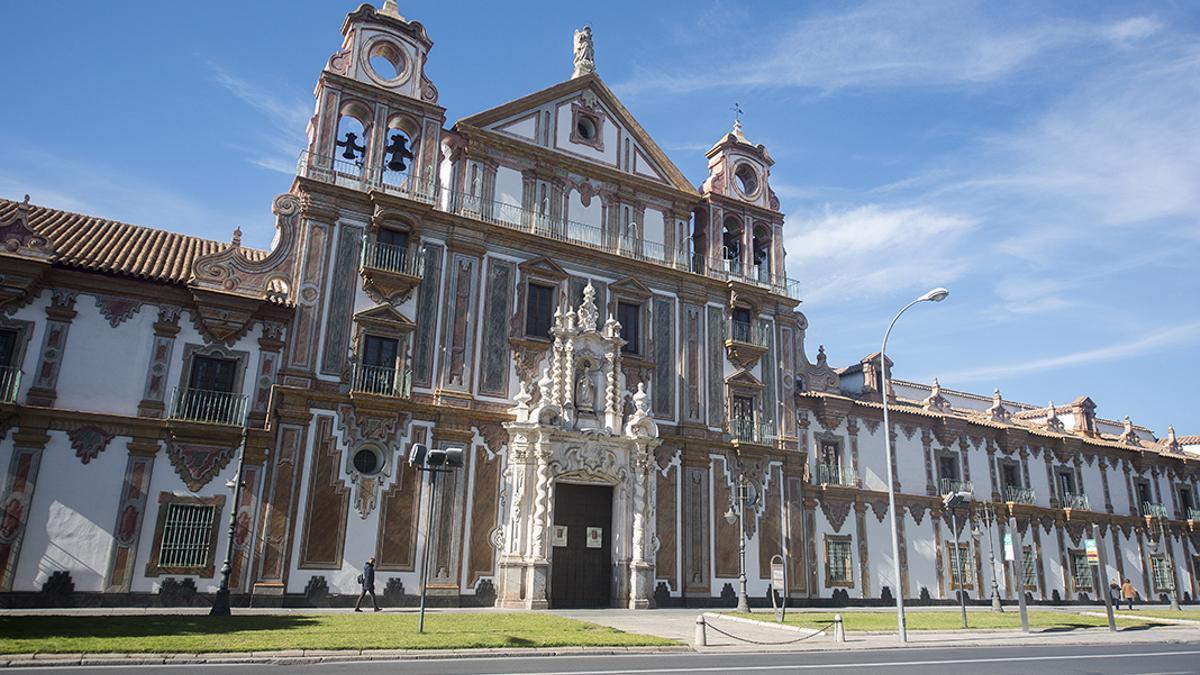 Fachada de la Diputación de Córdoba.