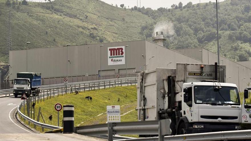 Aparece el cadáver de un recién nacido en una planta de residuos de Bilbao