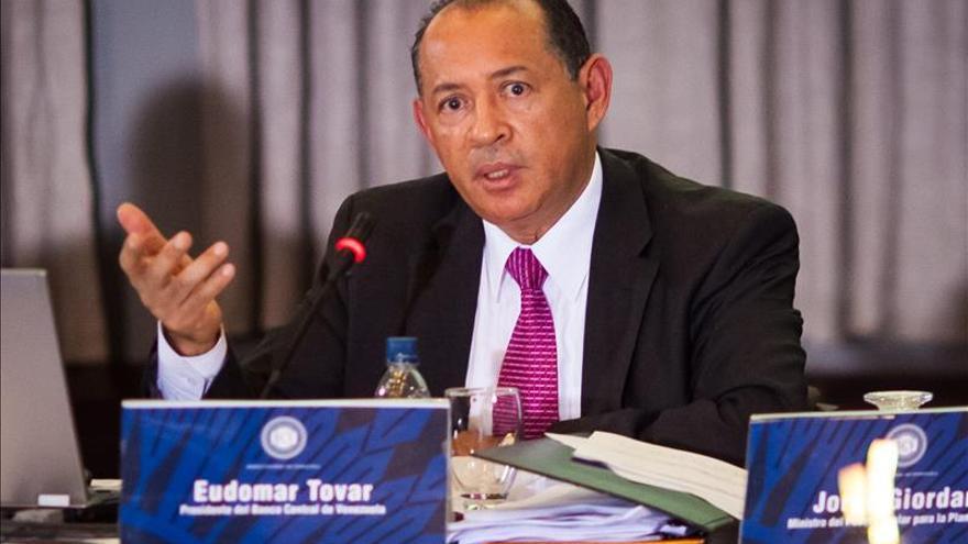 El Banco Central de Venezuela dice que el crecimiento del PIB no alcanzará la meta