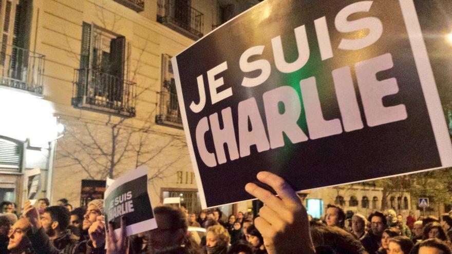 Manifestación en Madrid tras el atentado contra la revista francesa Charlie Hebdo / Stéphane M. Grueso