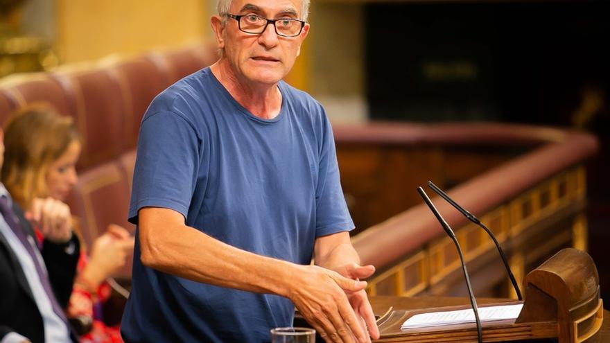 El Congreso niega el voto telemático a Cañamero que quería votar a distancia mientras recogía aceitunas
