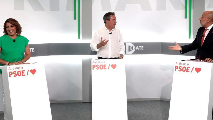 Los candidatos de PSOE-A apuran la campaña a 24 horas del veredicto de los militantes