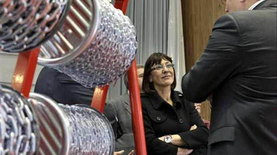 Ana Aguirre, en su etapa como consejera de Industria