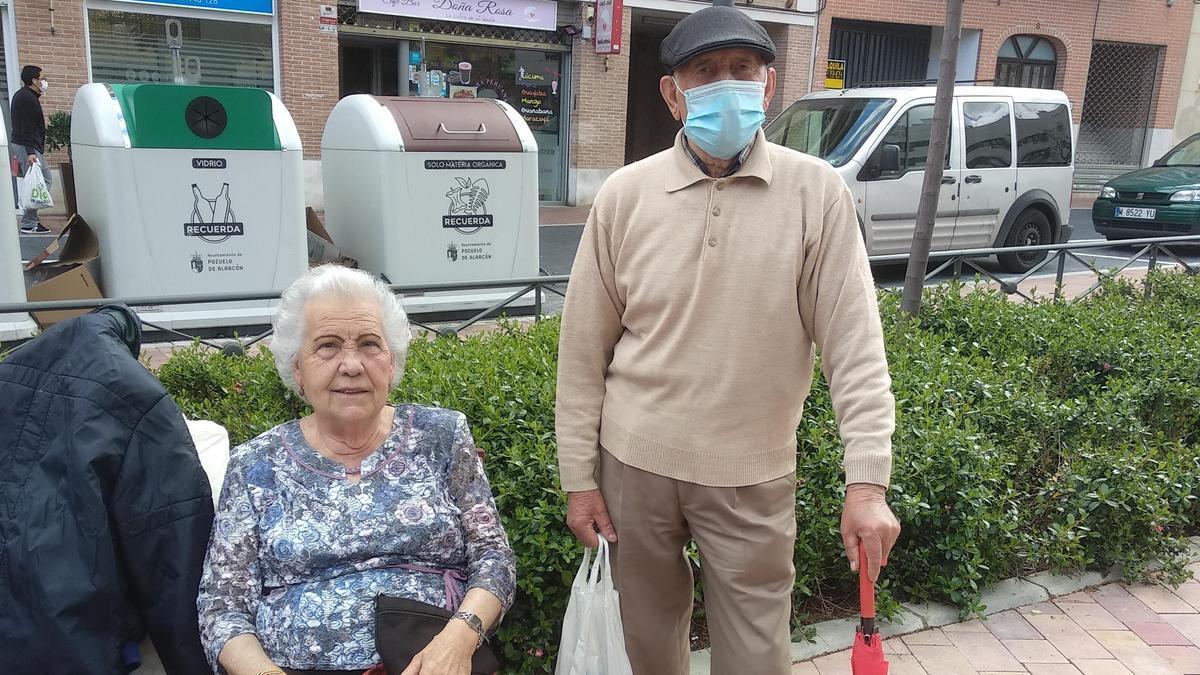 Juana López y Faustino Calcerrada, 60 años en Pozuelo