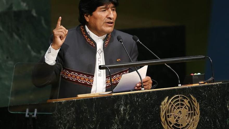 """Evo Morales llama """"delincuente confeso"""" a un periodista de CNN"""