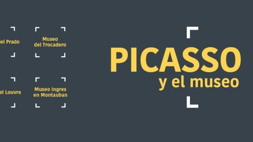 Cartel de la exposición en la Fundación Bancaja con creaciones de Picasso