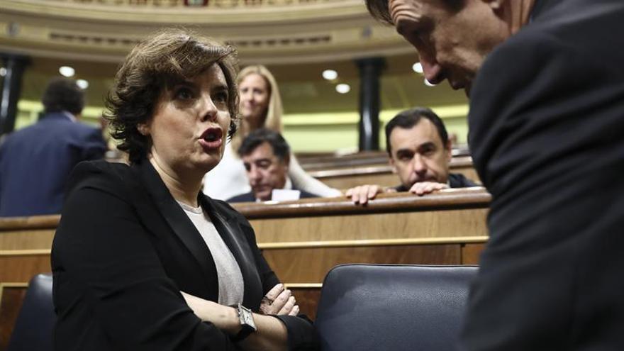 """Santamaría acusa PdeCat """"despreciar la voz"""" de catalanes no independentistas"""