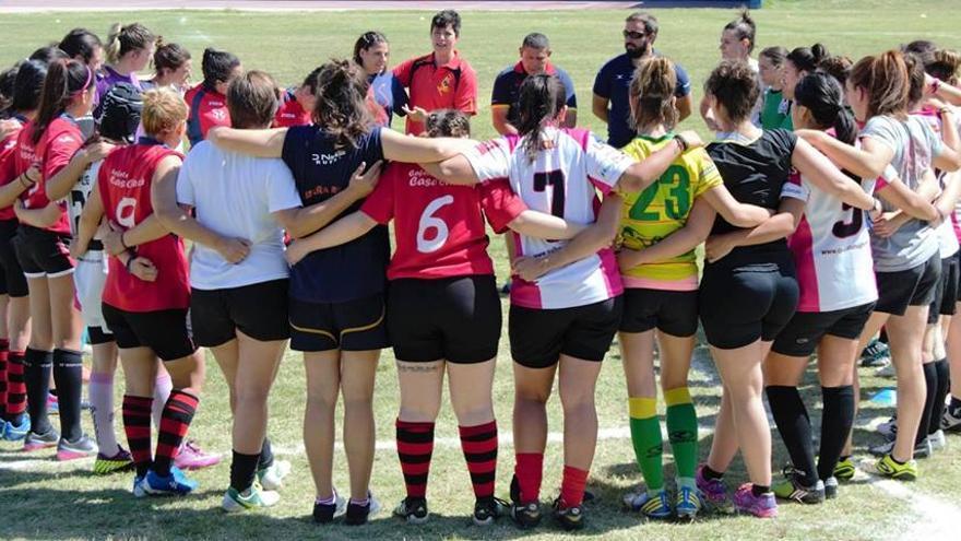 Rugby femenino en Castilla-La Mancha