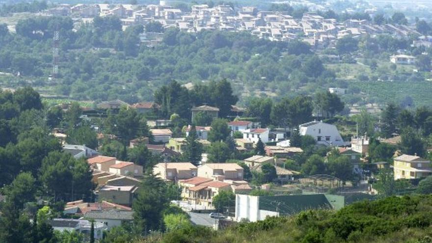 Urbanización Calicanto, en Chiva (Valencia)
