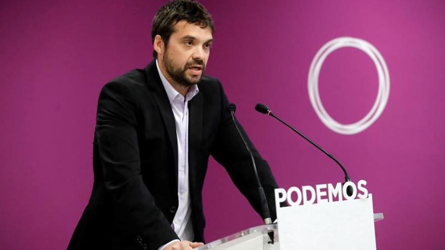 Jesús Santos se perfila como nuevo coordinador de Podemos Comunidad de Madrid