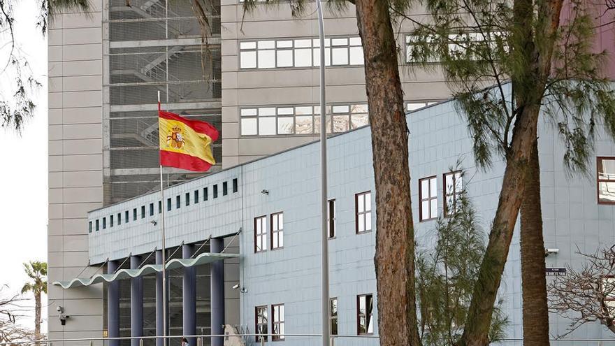 Supercomisaría de la Policía Nacional en Las Palmas de Gran Canaria (ALEJANDRO RAMOS)