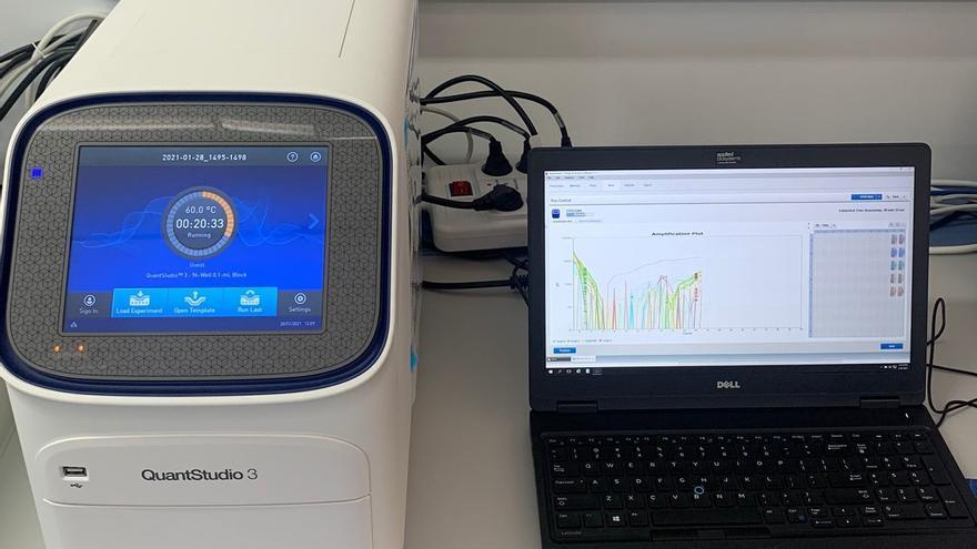 El Instituto de Enfermedades Tropicales de Canarias adquiere equipo para detectar la cepa británica en tiempo real