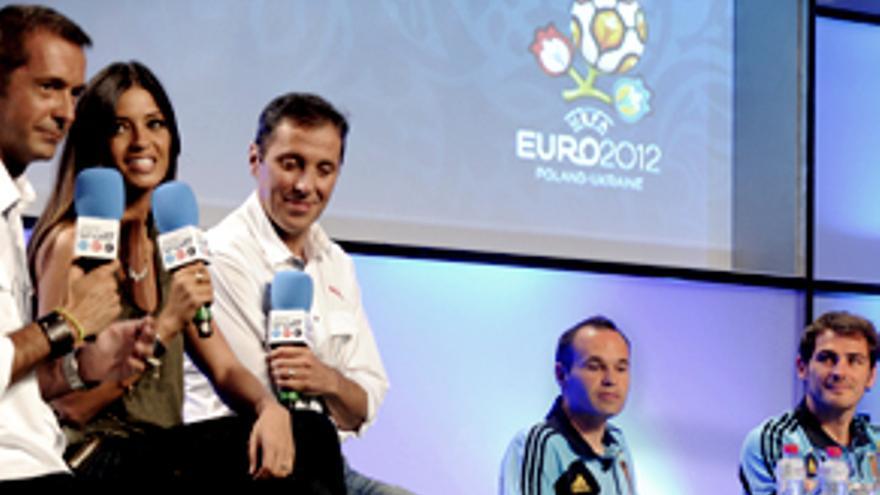 Pitido de arranque a la primera Eurocopa de fútbol en Telecinco