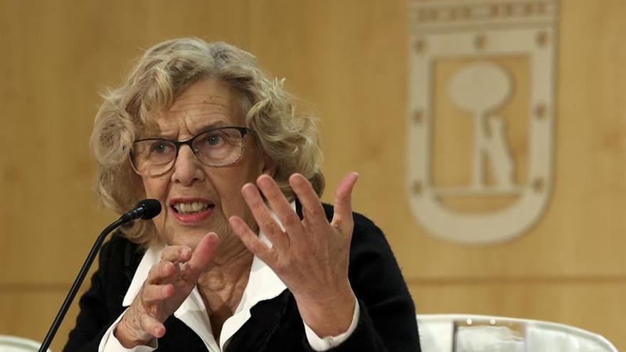 """Carmena cree que la gestión del Ayuntamiento en Lavapiés fue """"correcta"""""""