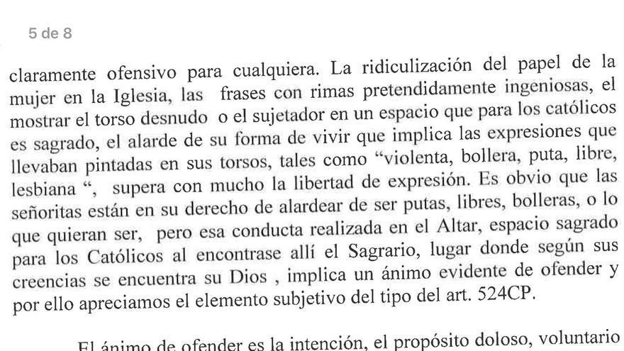 Escrito de la fiscal Marisa Morando