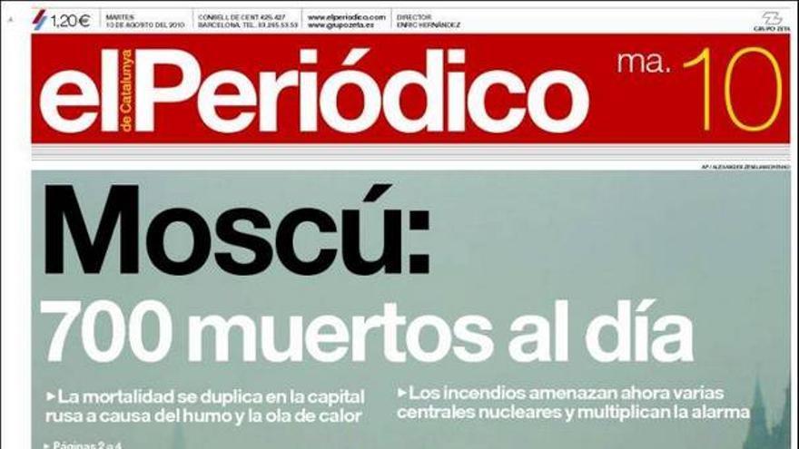 De las portadas del día (10/08/2010) #8