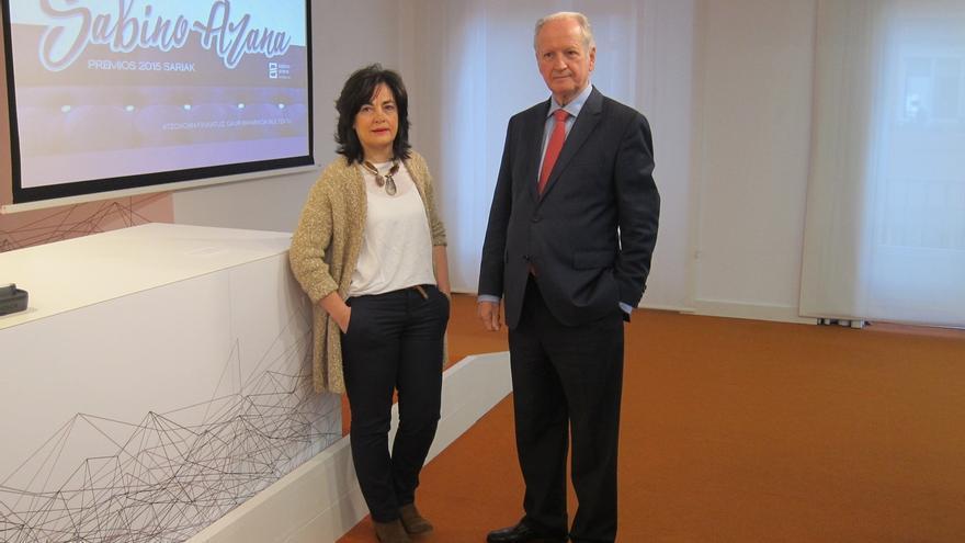 El exprimer ministro de Escocia Alex Salmond y el congresista de EEUU John Garamendi, premios Sabino Arana 2015