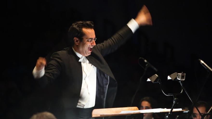 Diego Navarro, director del Festival Internacional de Música de Cine de Tenerife