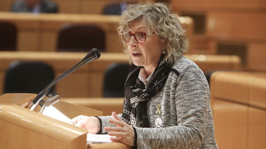 La portavoz del Grupo Parlamentario ERC-EH Bildu en el Senado, Mirella Cortès i Gès.