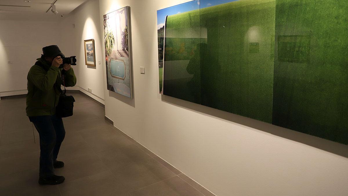 Exposición 'El jardín secreto' en la Fundación Botí.